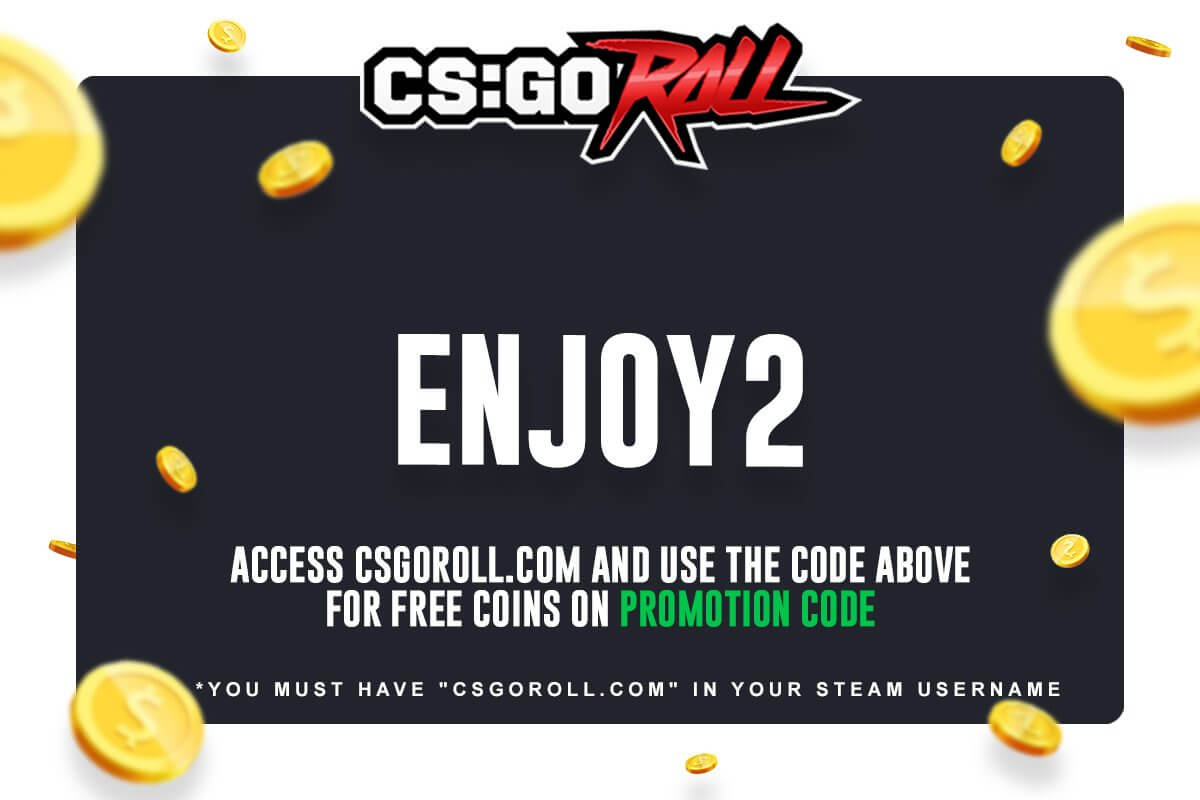 csgoroll referral code