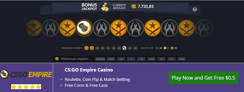 csgo betting sites free money